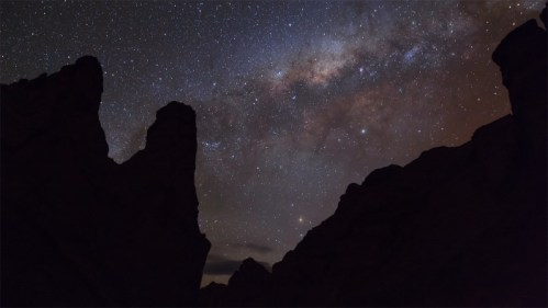 Vía Láctea y form. rocosa