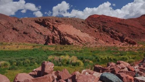 Cerro rojizo