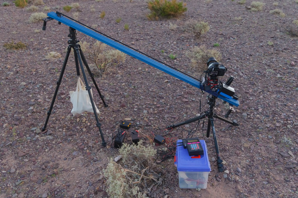Alimentando dispositivos para time-lapse