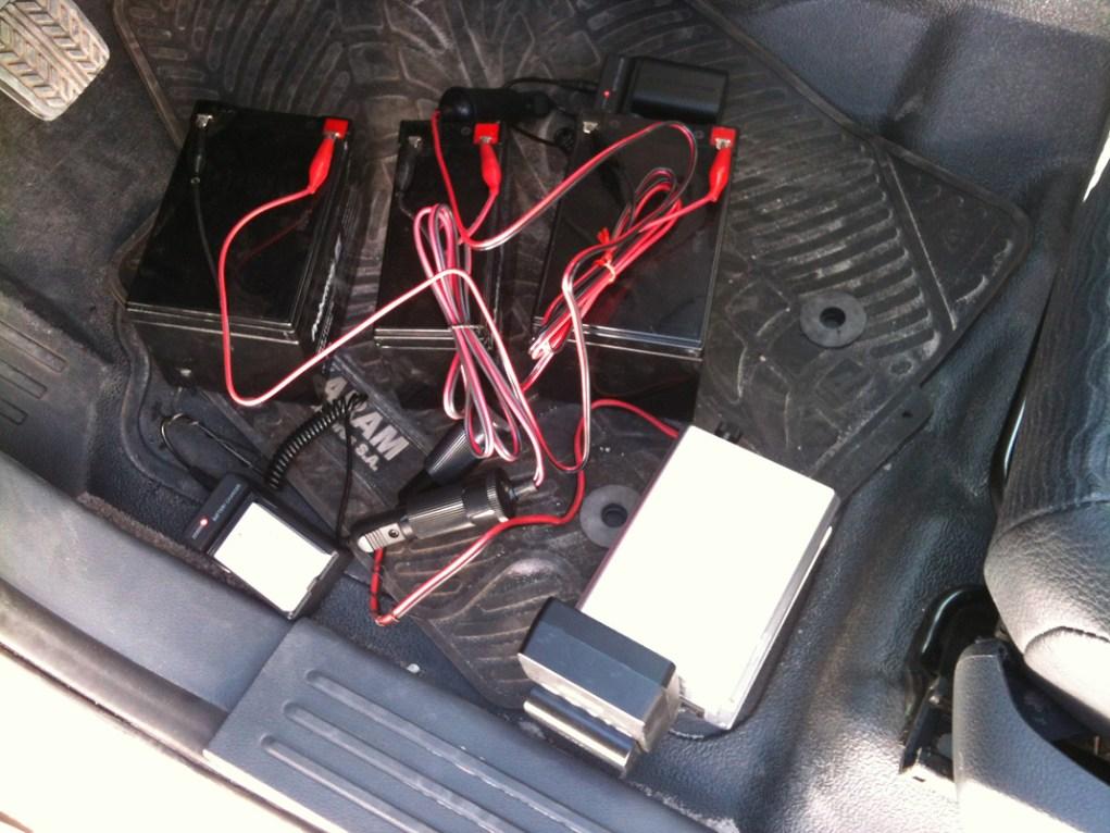 Cargandor baterías