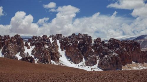 Formaciones y nubes