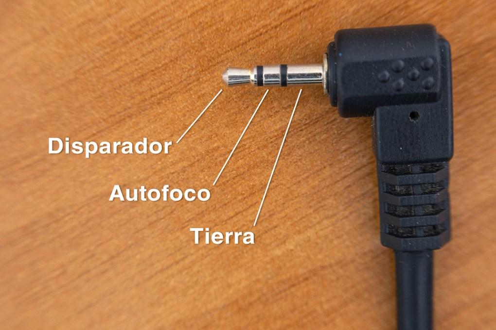 Conexión al intervalómetro
