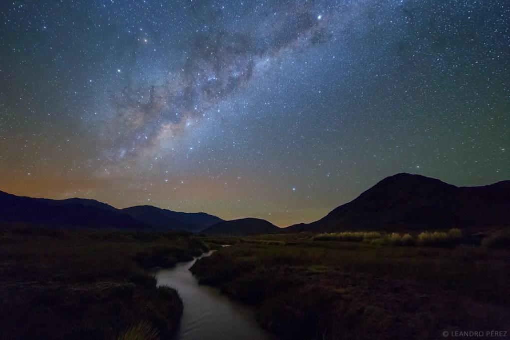 Vía Láctea al Este