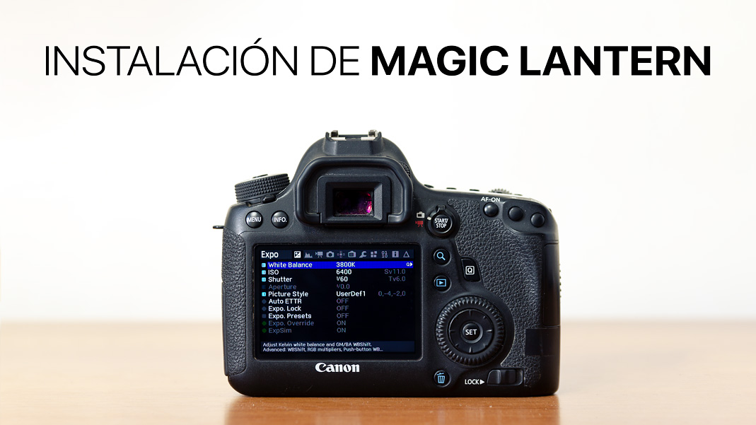 Instalacion de Magic Lantern
