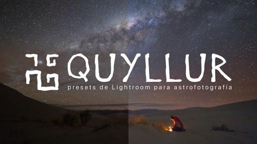 Quyllur - Presets de Lightroom para astrofotografía