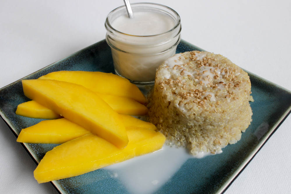 quinoa and mango medley quinoa pudding quinoa pudding breakfast quinoa ...