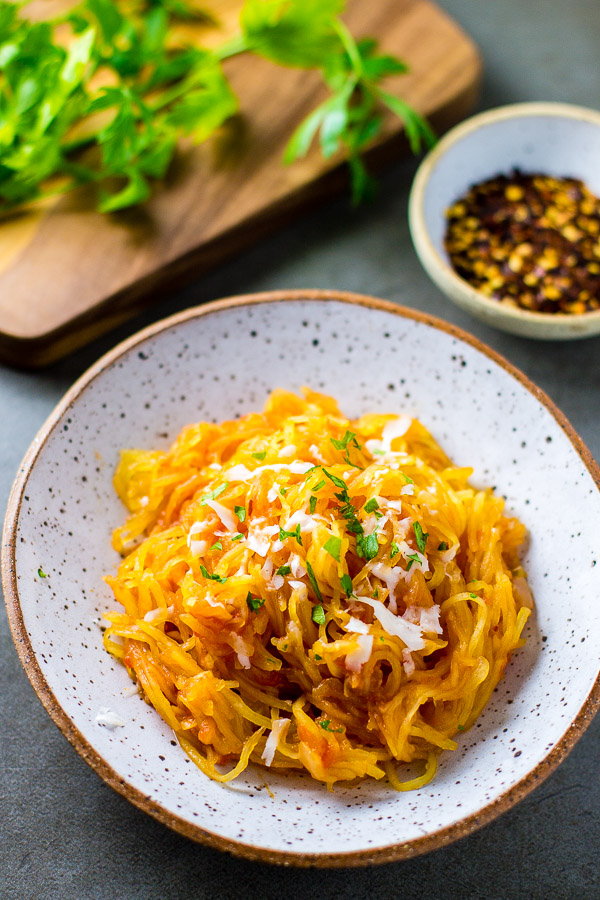 Spaghetti Squash all'Amatriciana