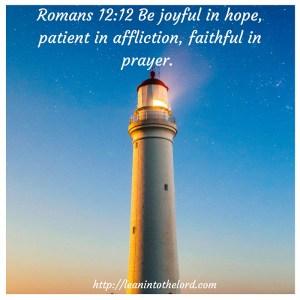 Romans12:12