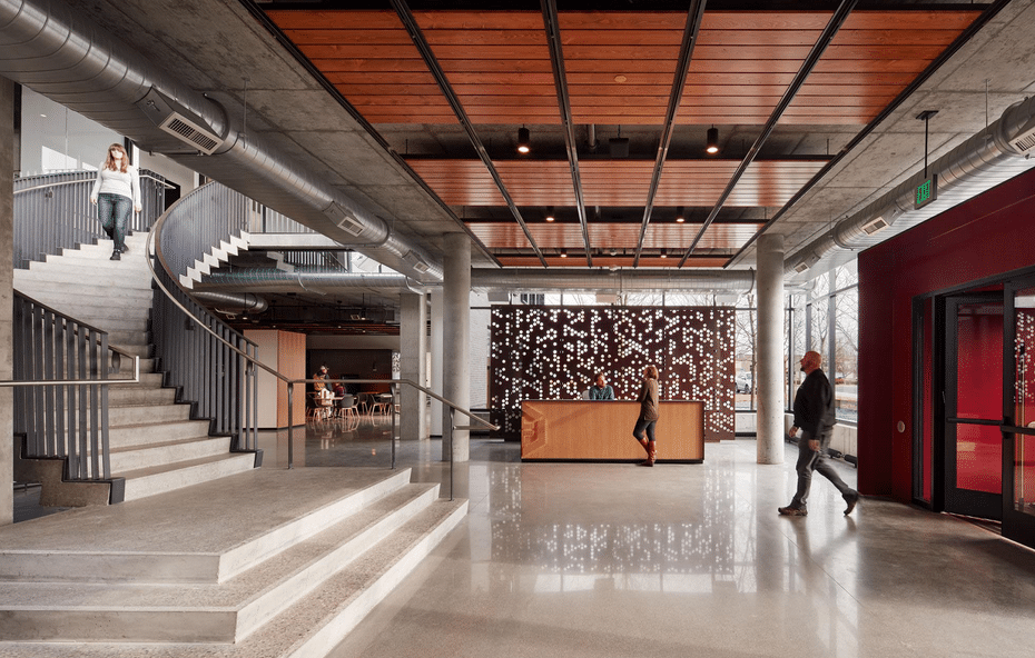 McGough Constructions headquarters, the first Lean IPD project for Rebecca Celis, HGA