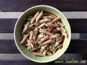 Recipe: Pasta Salad with Roasted Mushrooms