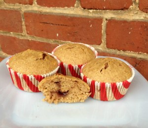 Share Recipe Sunday – Almond Butter and Jelly Muffins