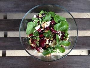 Beets Salad Recipe and Motivation Monday