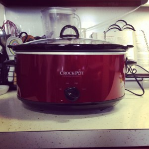My new crock pot
