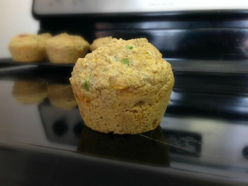 Recipe: Ham and Cheese Corn Muffins