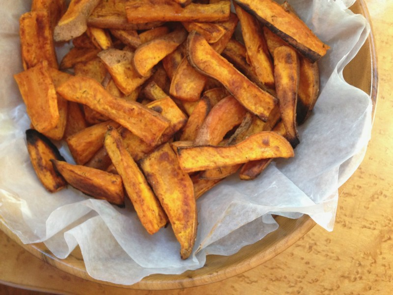 Sweet Potato Wedges – Tasty Tuesday Linkup Party