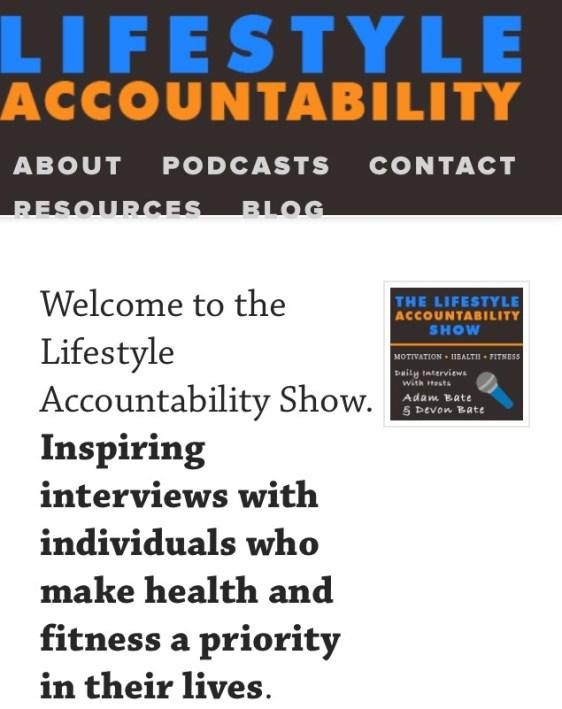 life style accountability