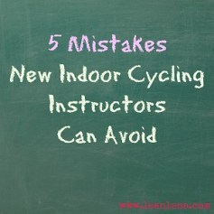 new cycling instructor