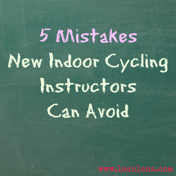 5 Mistakes New Indoor Cycling Instructors Can Avoid