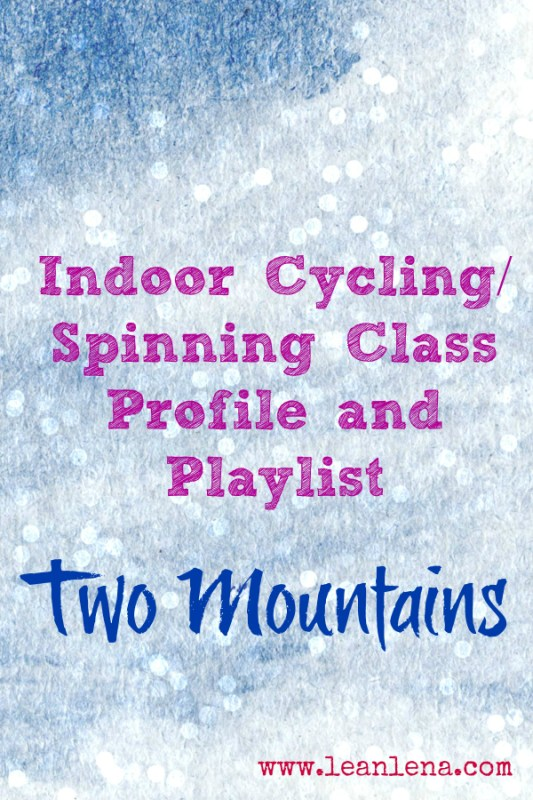 Cycling Class Profile and Playlist: Two Mountains