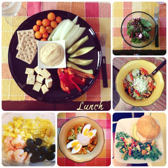 healthy lunches