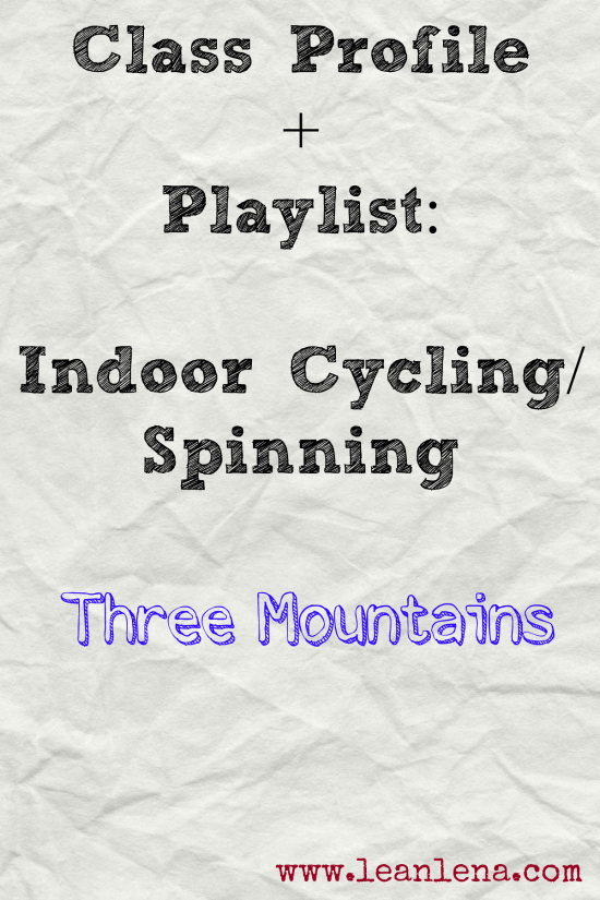 Climb Your Three Mountains Cycling Class Profile