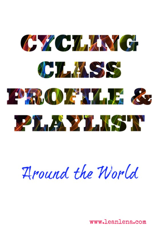 Cycling Class Plan: Around the World