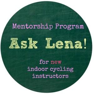 mentorship for new indoor cycling instructors