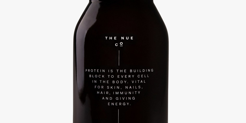 You can ingest what's in this (sleek) pharmacy bottle apparently | The Nue Co.