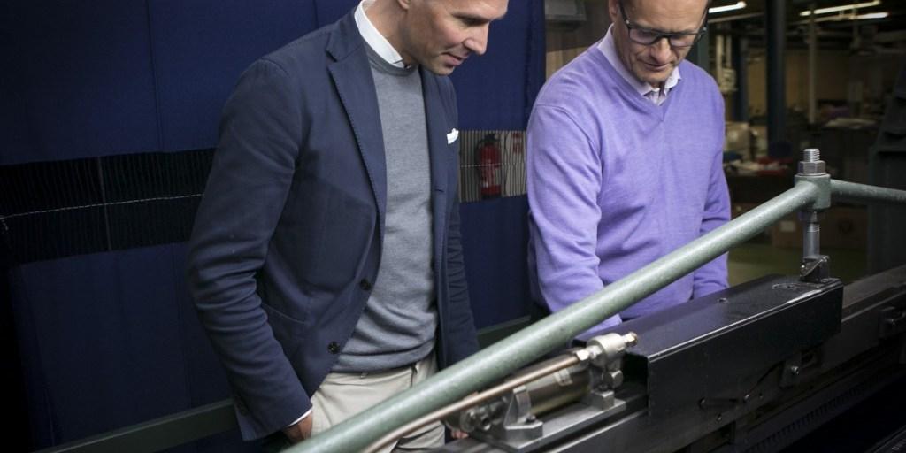 Serious implications for EU nationals like Trunk Clothier's Mats Kling, left | Begg & Co.