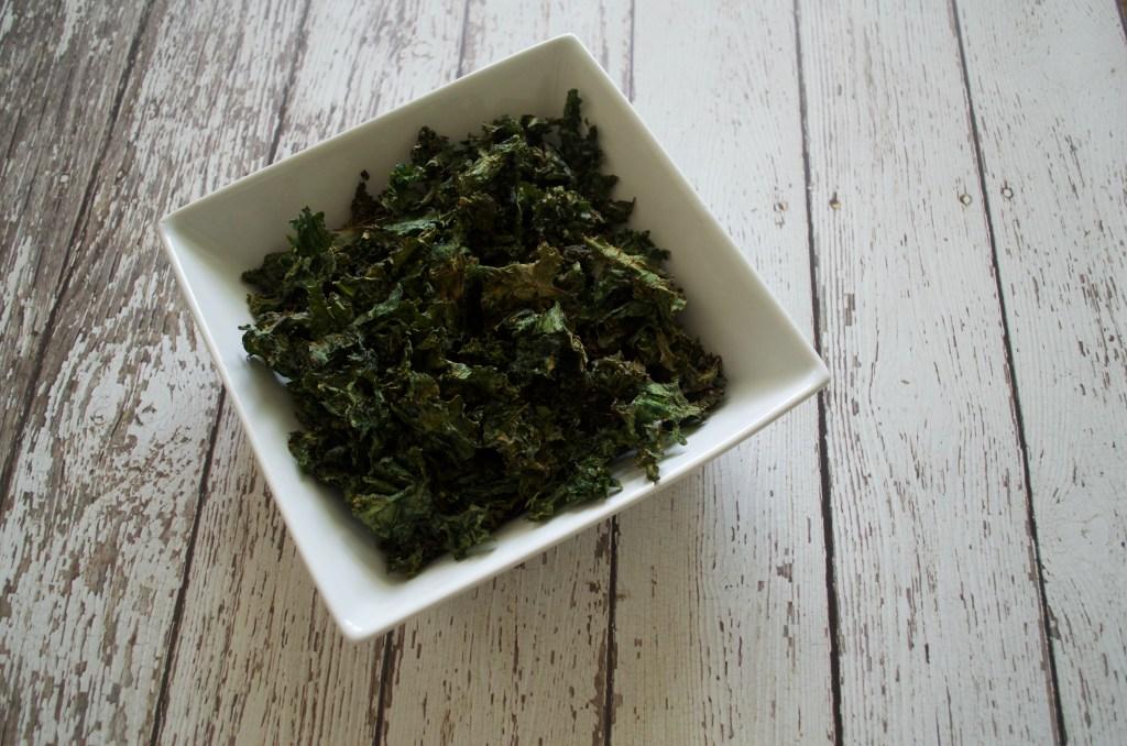 Baked Kale Crisps