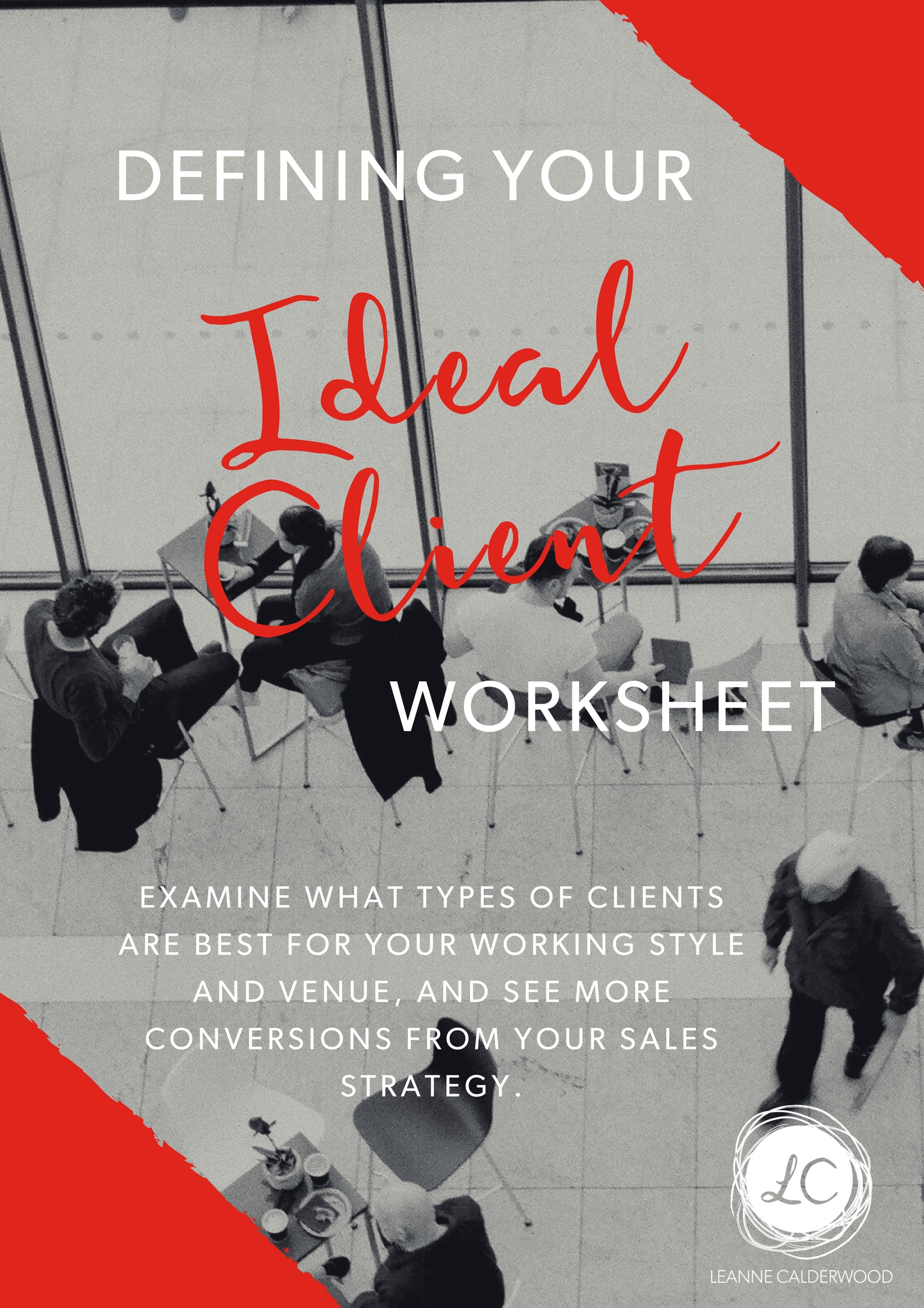 Defining Your Ideal Client Worksheet