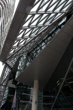 buildings-Melbourne-Docklands-up-entrances