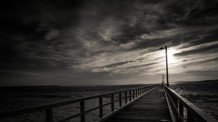 jetty-pointlonsdale-monochrome-morning