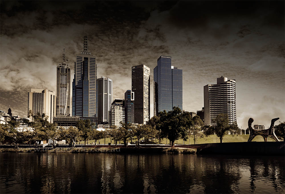 melbourne-skyline-morning-summer-river