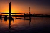 bolte-bridge-sunset-boats-melbourne