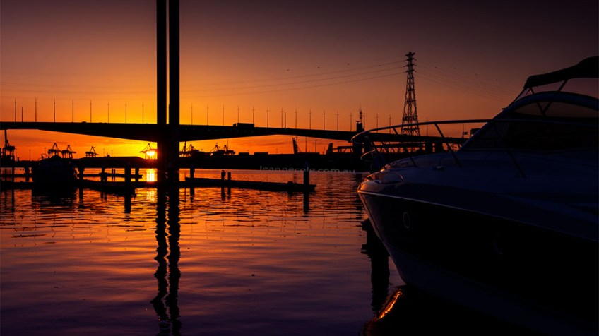 docklands-bolte-bridge-sunset-melbourne