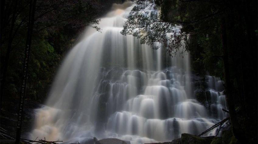 nelson-falls-tasmania-flowing-closeup