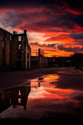 port-arthur-penitentiary-ruins-sunset