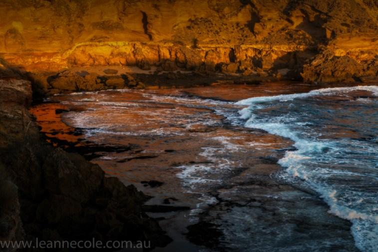 beach-sorrento-water-waves-sunset-1