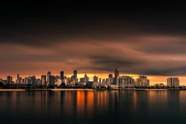 port-melbourne-longexposure-bay-skyline