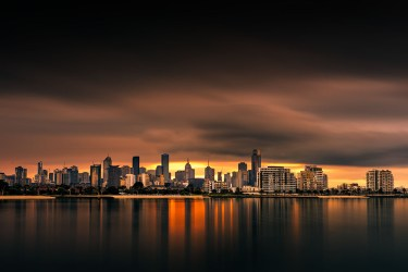 port-melbourne-longexposure-bay-skyline