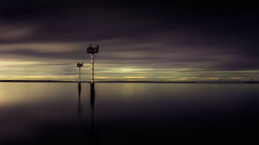port-melbourne-morning-long-exposure