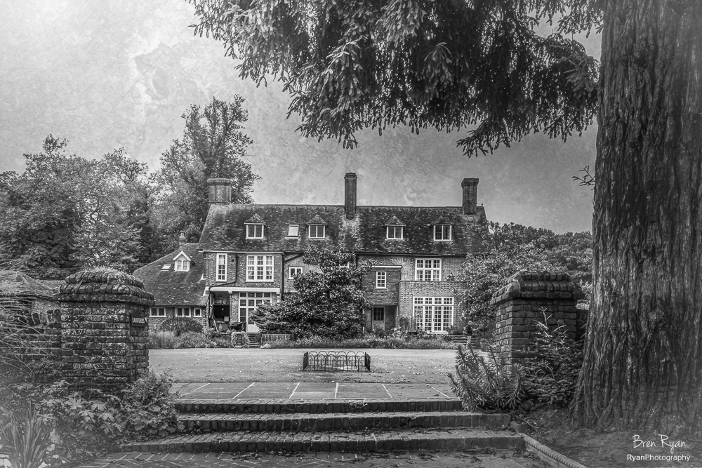The House at Great Comp Gardens