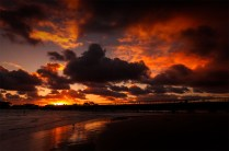 barwonheads-sunset-river-victoria-bridge