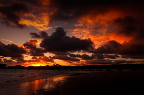 barwonheads-sunset-river-victoria-bridge