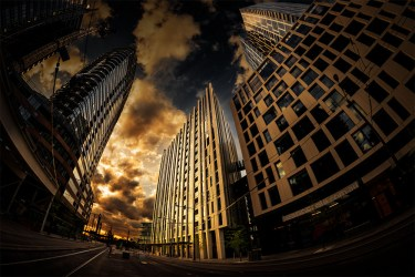docklands-building-architecture-fisheye-melbourne