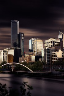 melbourne-city-skyline-longexposure