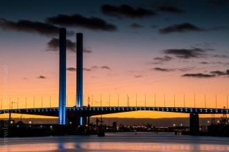 bolte-bridge-sunset-night-docklands-7028