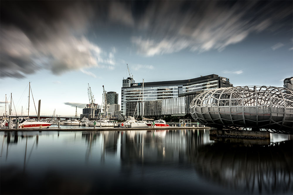 docklands-longexposure-webbbridge-melbourne-morning