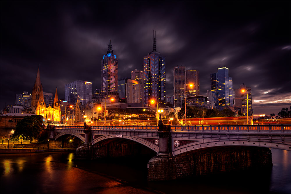 morning-long-exposure-melbourne-cityscape